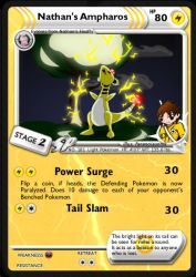 Nathan's Ampharos v2 by DBurch01