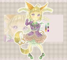 [CLOSED] #11 Raffle Adoptable - Twist Tail Series by freezingfeathers