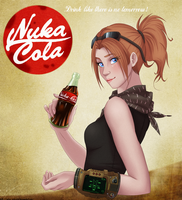 Nuka-Cola poster by Silva-Minstrel