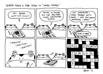 QF and FT in: 'Word Games' by maxburg
