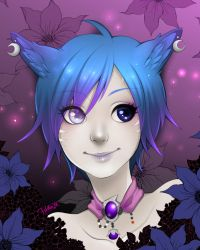 Shianna Nightshade portrait by Prettio