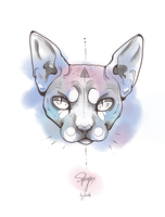 Sphynx by anouki-morgenstern