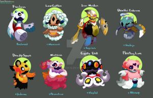Pokemon Variations- Froslass by procon-8