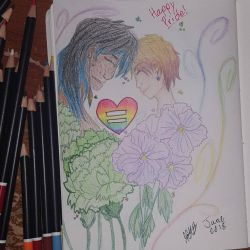 Happy Pride Month by AngelofShadows2001