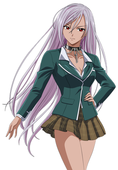 Rosario+Vampire_1_In_Color by xxRIDDICKxx