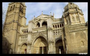 Cathedral - Toledo by NeoRavenous