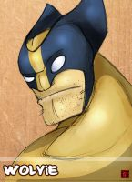 QuickSketch: Wolvie by CheungKinMen