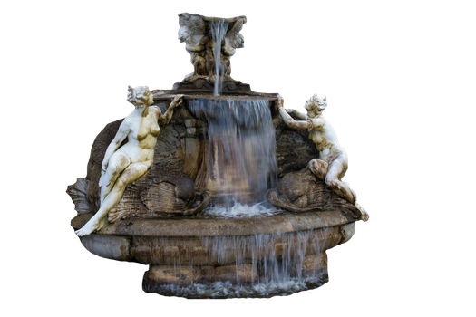 Water Statue Second Version PNG by chaseandlinda