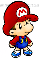 baby mario by Nintendrawer