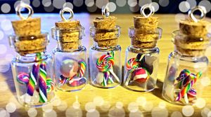 Mini Candy in a Bottle charms by LittleCLUUs
