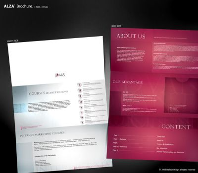 ALZA Brochure. by Dalash