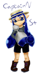 Splatoon - Captain V by Kitty101ck