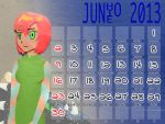 June 2013 by mushisan