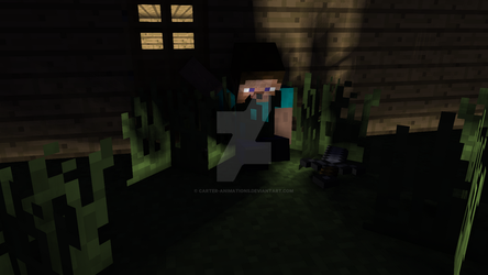 Minecraft scene by Carter-Animations