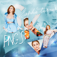 PNG PACK (164)  Sophie Turner by DenizBas