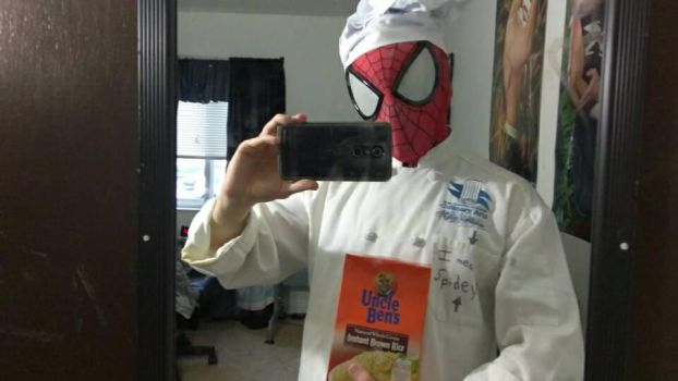 Chef Spidey - Cosplay by HulktySSJ2