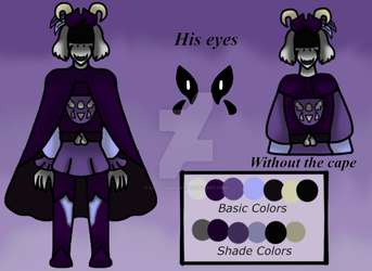 (Deltarune References) The Knight. by KillerKawaii1