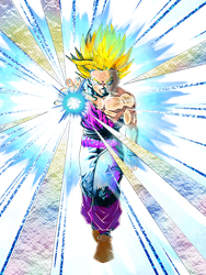 Gohan teen colorized by robrichwolf