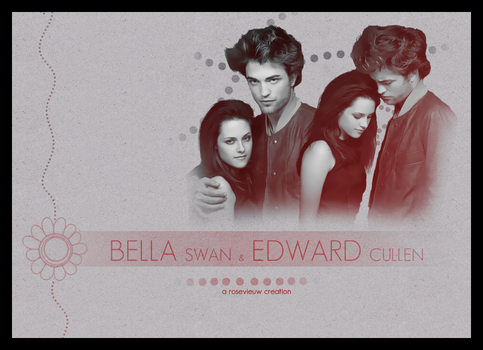 Bella and Edward by Rosevieuw