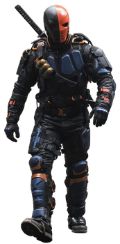 Deathstroke (Full Body) - Transparent Background! by Camo-Flauge