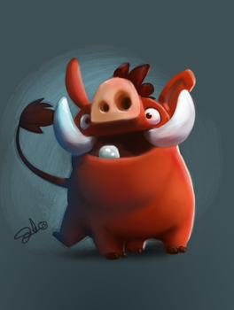 Pumba SketchDailies by Corey-Smith
