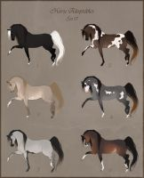 Horse Adoptables Set 17 - OPEN - 1 LEFT by Paardjee