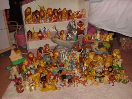 May 10th 2015 -Lion King Figure Collection Update! by Daniellee14