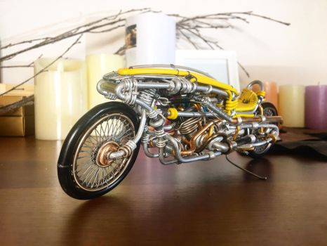 Wire Motorcycle 15 by CreativityChains