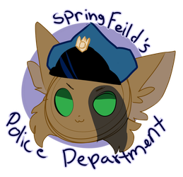 SpringFeild's Police Department by Szlieer