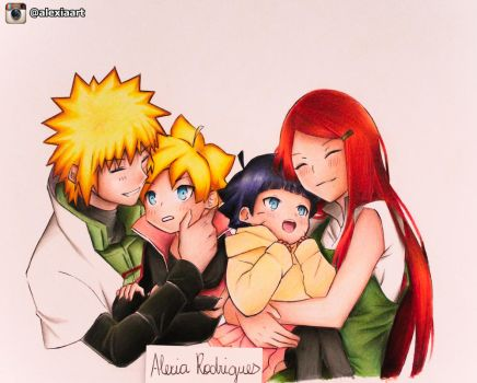 Uzumaki Family Connection - Naruto by AlexiaRodrigues