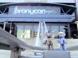 The Doctor And Derpy go to Bronycon! by DoctorWhoovesPhD