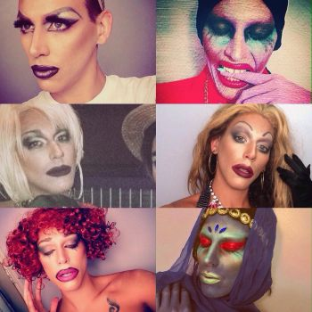 2017 Favorite Drag Looks  by thequeenbrandonian