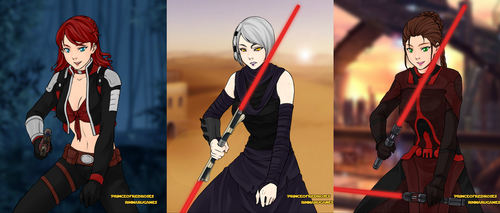 SWTOR Happy Dysfunctional Family by Shippo3313