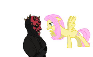 Darth Maul vs. Fluttershy (complete) by Lord4536