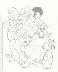 Captain Caveman and the Teen Angels by CarlosMota