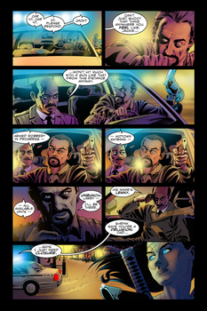 Eternal Knights Issue1-Page3-COLORS by Tibbittz
