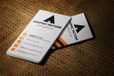 Modul 004: Graphic Vectors (Business Card) by LamiaDC