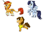 Chibi Ponies e.g. MALE by MelonSeed11