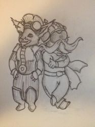 WIP - Corki and Rumble Visual Upgrade by 3mptylord