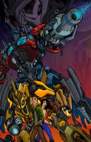 Transformers Colour Battle entry- Re-upload by Redcaterpie