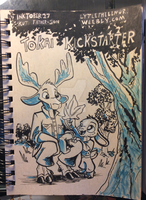 Inktober 27 Kut Father and Son by LytletheLemur