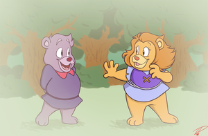 When We Were Cubs by Twinkel13