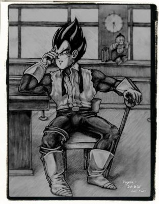 Vegeta: Ich Will by CCMathis