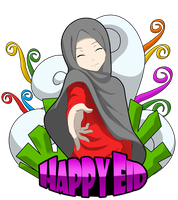 Happy Eid by Crowmaru