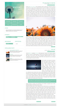 FREE Blogger template Mietowy by stupid-owl