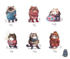 Cozy Cats Club by Iraville