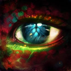 Dragon eye by ryky