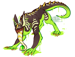 {ADOPT} CCCat - Sewer Gator [CLOSED] by WellHidden