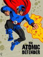 Atomic Defender by Jay Piscopo by LegacyHeroComics
