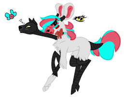 MLP Mangle Based Pony by TheRogueThorn